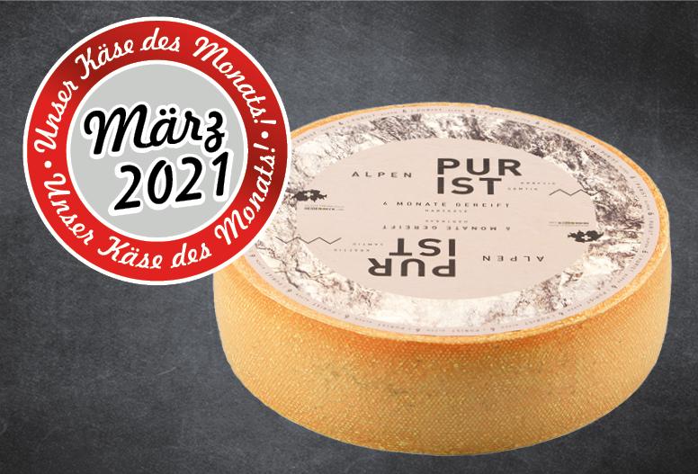 Käse des Monats - Alpen Purist Thumbnail