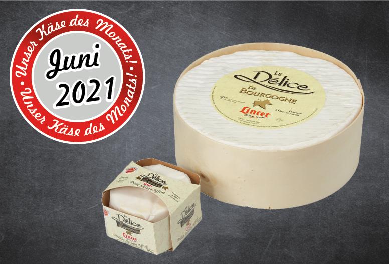 Käse des Monats - Délice de Bourgogne Thumbnail